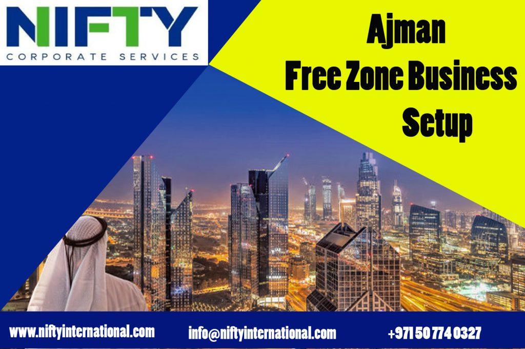 Best Ajman free zones Business setup  